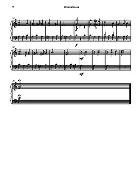 Greensleeves For Tone Chimes/ Choir Chimes