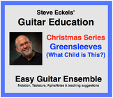 Greensleeves (What Child is This?) - Christmas Guitar Ense