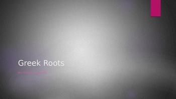 Greet Root Words