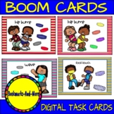 Greet Your Friends Safely Boom Cards