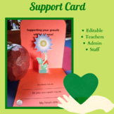 Supporting Your Growth While at Home Card (Back To School