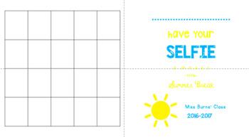 """Greeting Card """"SELFIE"""" Template"""