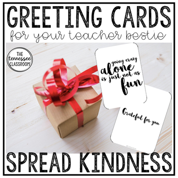 Greeting Cards for Teacher Besties