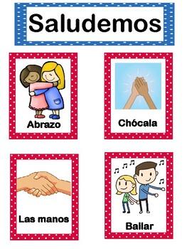 Greeting Chart - Saludos