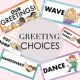 Greeting Choice Labels and Clipart by Taracotta Sunrise