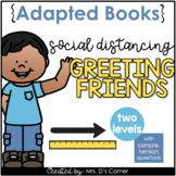 Greeting Friends with Social Distancing Adapted Books [Lev