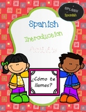 Greeting Introduction Activity in Spanish