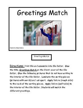 Greeting Match