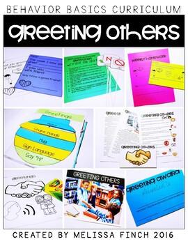 Greeting Others-  Behavior Basics Program for Special Education