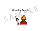 Greeting People Social Story