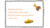 Greeting Song for Spanish elementary