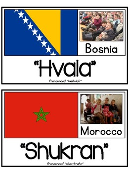 """Greetings Around the World - Learn how to say """"Thank You"""""""