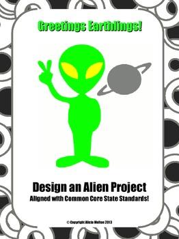 Greetings, Earthlings!  Design an Alien Project