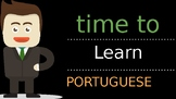 Greetings Flash cards - English / Portuguese