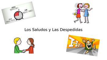 Greetings and Farewells Presentation - Spanish 1