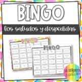 Greetings and Goodbyes Spanish Bingo Game | Bingo de los Saludos y Despedidas