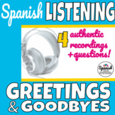 Greetings and Goodbyes in Spanish (Saludos y despedidas) L