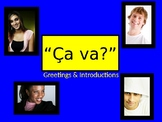 Greetings and Introductions in French