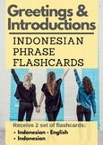 Greetings and Introductions in Indonesian (Flashcards)