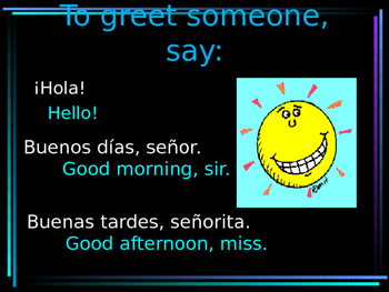 Greetings and Small talk