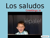 Greetings, goodbyes, manners and people in Spanish Power Point