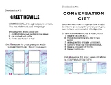 Social Passport:  Greetingville/Conversation City
