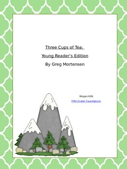 Greg Mortensen Three Cups of Tea Young Reader's Edition So