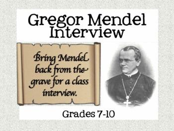 Genetics Lesson: Gregor Mendel Interview