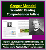 Gregor Mendel - The Father of Genetics - A Famous Scientist Reading