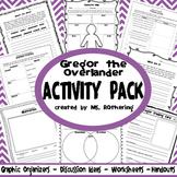 Gregor the Overlander Activity Pack