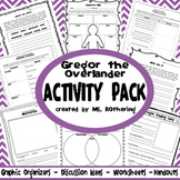 Gregor the Overlander Activity Pack
