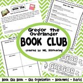 Gregor the Overlander Book Club Pack