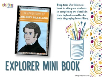 Gregory Blaxland Australian Explorers Lapbook Series