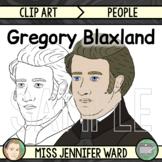 Gregory Blaxland Clip Art