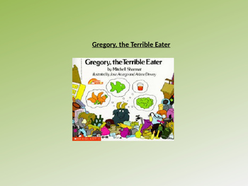Gregory the Terrible Eater Text Talk