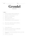 Grendel Reading Guide
