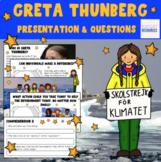 Greta Thunberg - Earth Day - No Prep Lesson