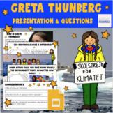 Greta Thunberg - Distance Learning  - Human Impact - Googl