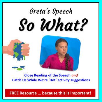 Greta's Speech - So What?