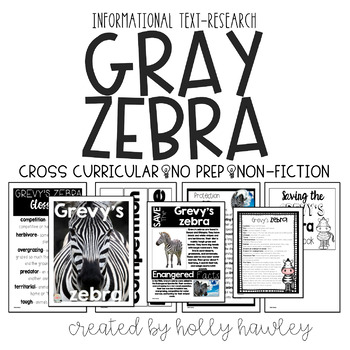 Grevy's Zebra-A Research Project