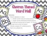Grey Chevron Word Wall {Editable Card Template Included} K-3
