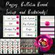 Grey Chevron and Floral Classroom Decor (Editable)
