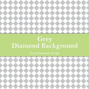 Grey Diamond Background