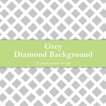 Grey Diamond Pattern Background