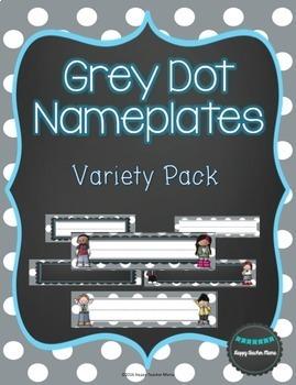 Grey Dots Organization BUNDLE!