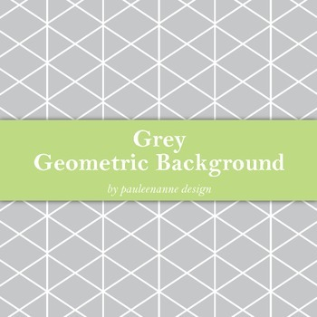 Grey Geometric Background