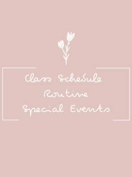Grey Marble Schedule Cards & Labels