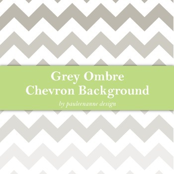 Grey Ombre Chevron Background