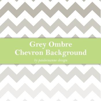 Grey Ombre Chevron Background