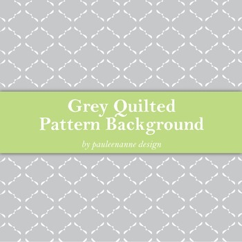 Grey Quilted Pattern Background